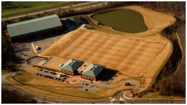 Falcons Facility Aerial View